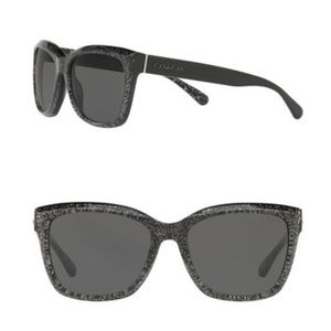 Coach core 57mm Square Sunglasses